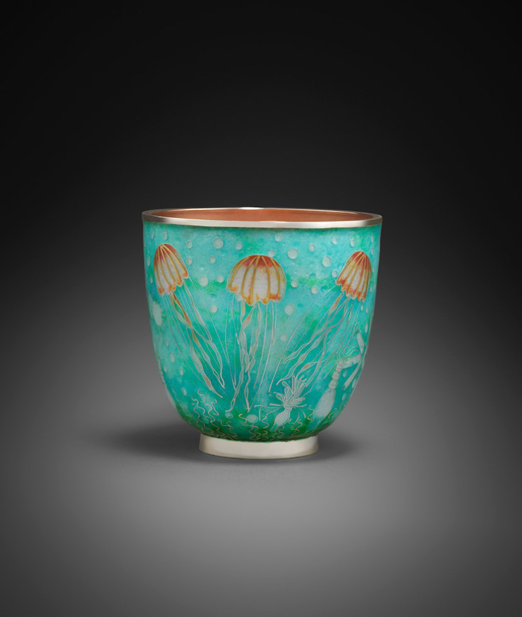 """Jellyfish"" sea cup"